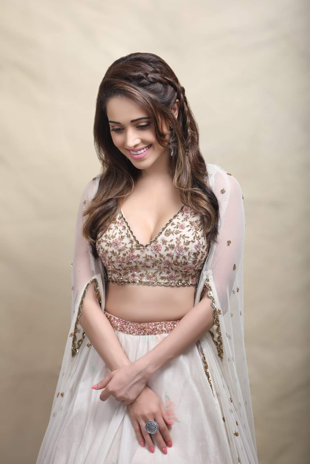 nushrat bharucha with cute smile