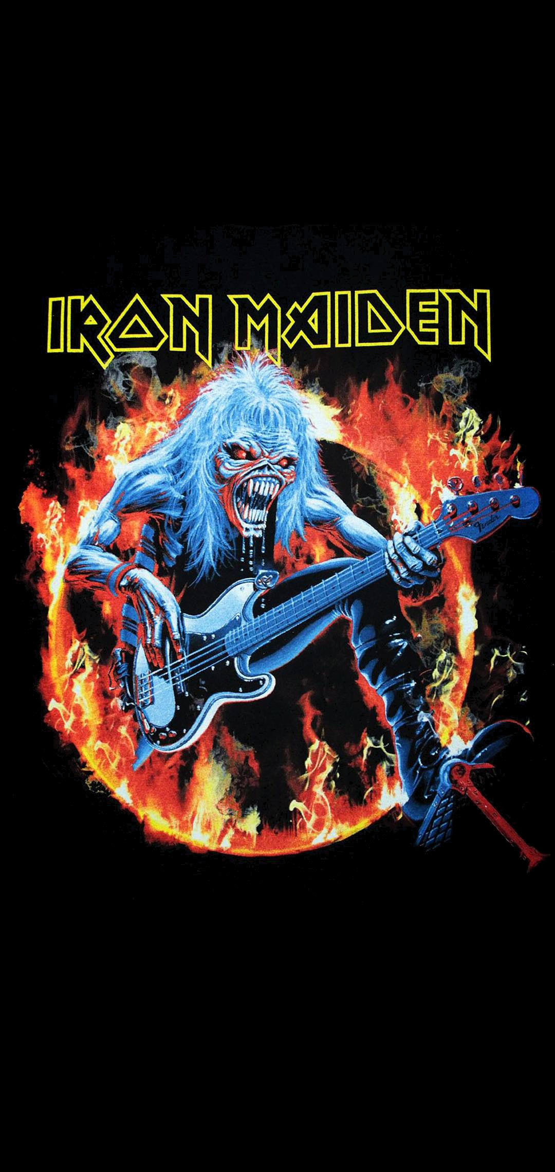 Iron Maiden Art Mobile Photo