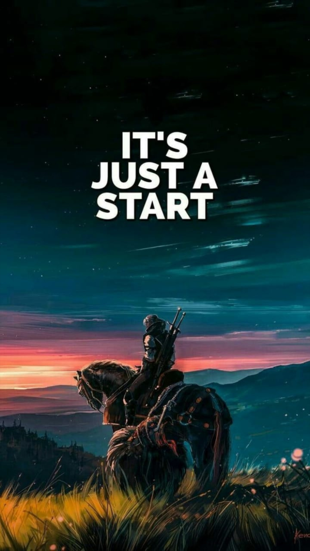 It is Just Start Life Quote