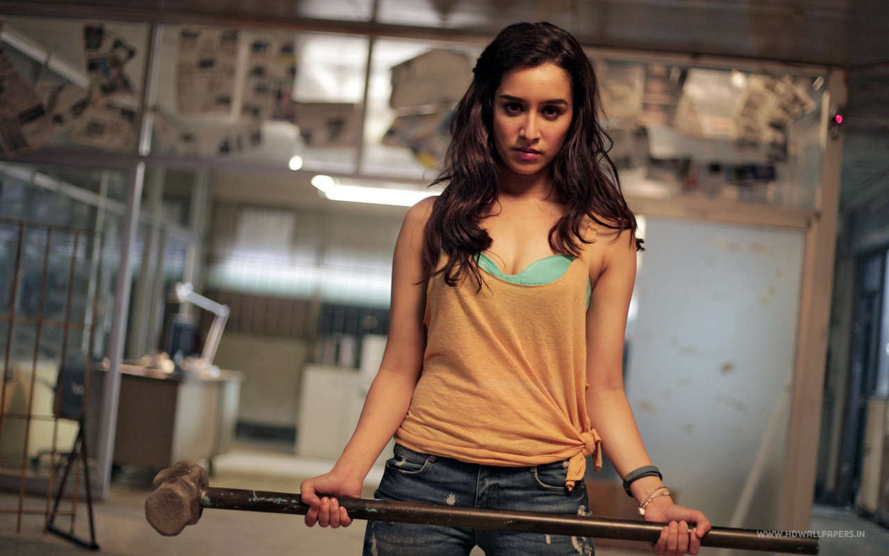 Shraddha Kapoor in Movie Scene