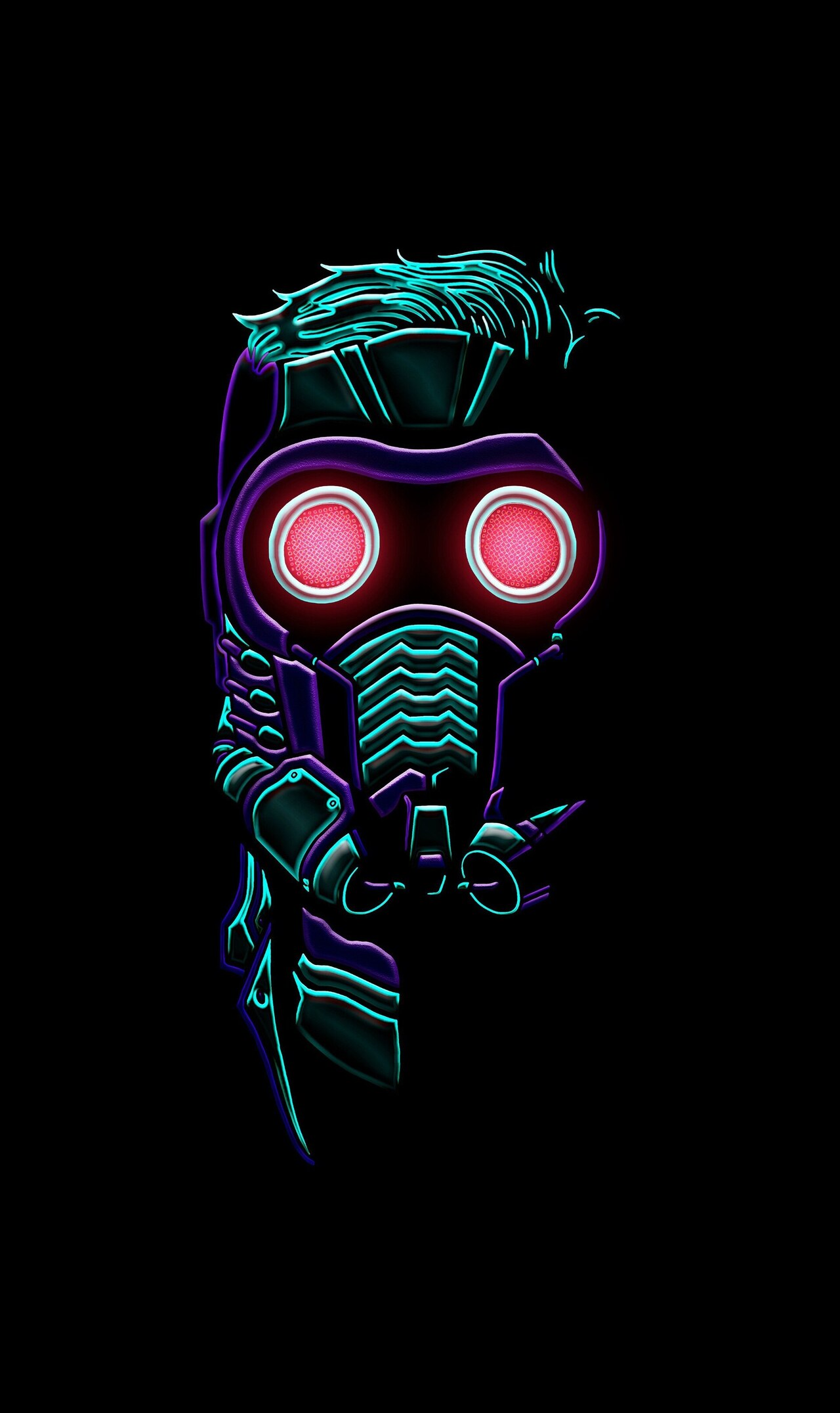 Star Lord Superhero Mobile Wallpaper