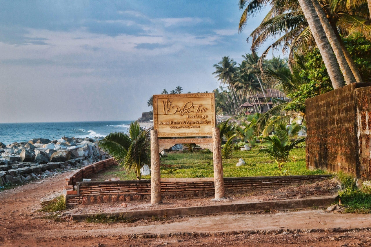 Varkala Beach in Kerala India