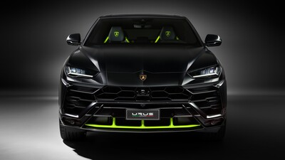 2021 Lamborghini Black Car 5K