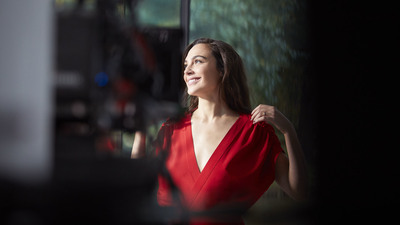 4K Pic of Gal Gadot Smile Face
