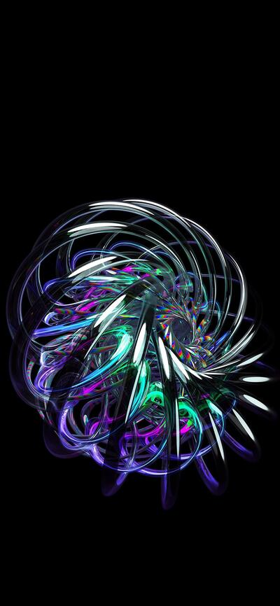 Abstract Image With Dark Background