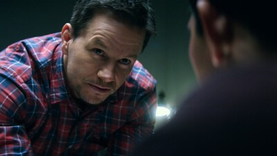Actor Mark Wahlberg in Mile 22 Movie