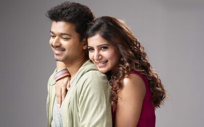 Actor Vijay And Samantha Photoshoot
