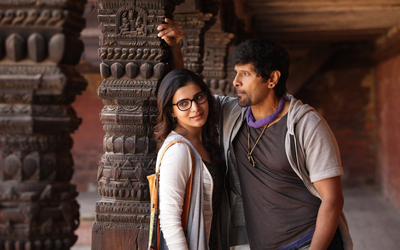 Actor Vikram And Samantha in 10 Endrathukulla Movie Scene