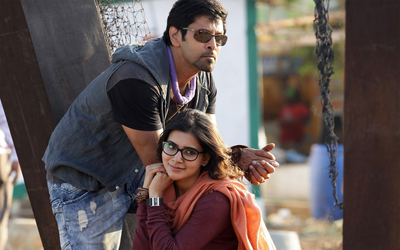 Actor Vikram And Samantha in 10 Endrathukulla Movie