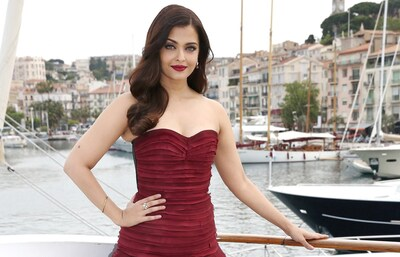 Actress Aishwarya Rai in Europe