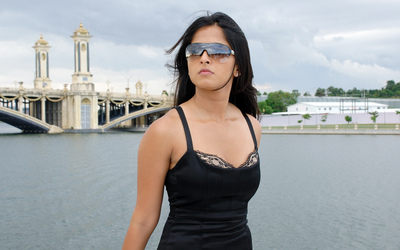 Actress Anushka Shetty in Sunglasses