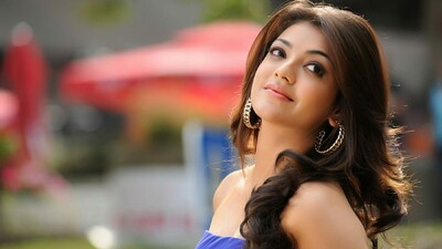 Actress Kajal Aggarwal Laptop Wallpaper