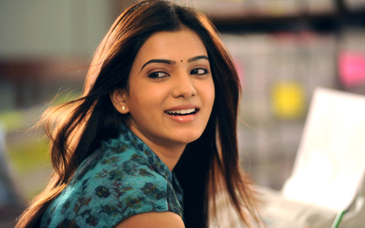 Actress Samantha in Eega Movie