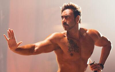 Ajay Devgn Six Pack Body Photo