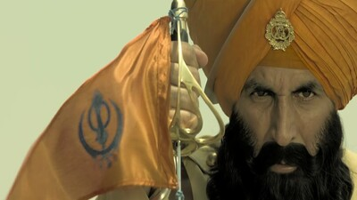 Akshay Kumar in Movie Kesari Wallpeper