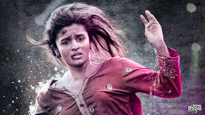 Alia Bhatt in Udta Punjab Movie Photo