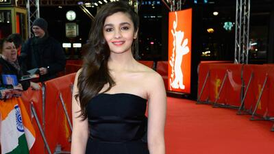 Alia Bhatt on Event in Black Dress