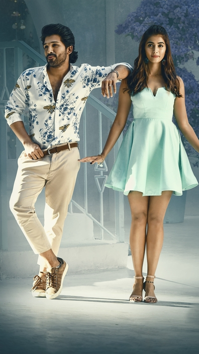 Allu Arjun and Pooja Hegde in ButtaBomma Song