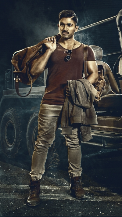 Allu Arjun in Surya The Soldier Movie Photo