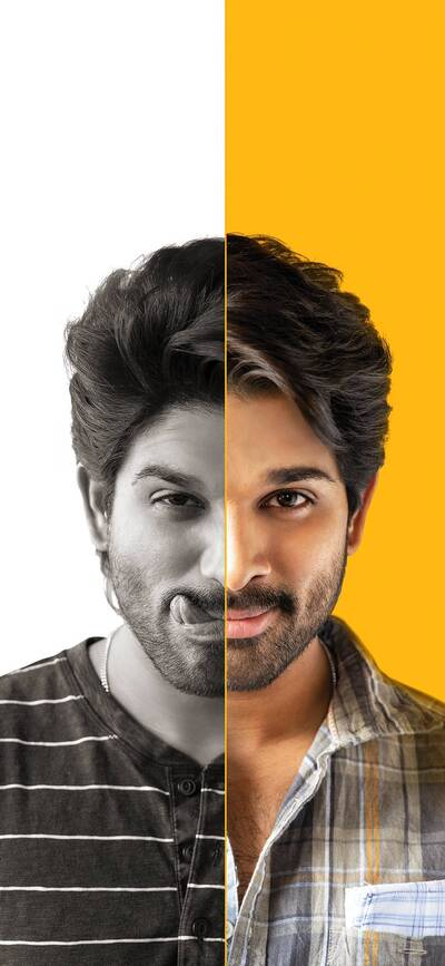 Allu Arjun Two Role Photo