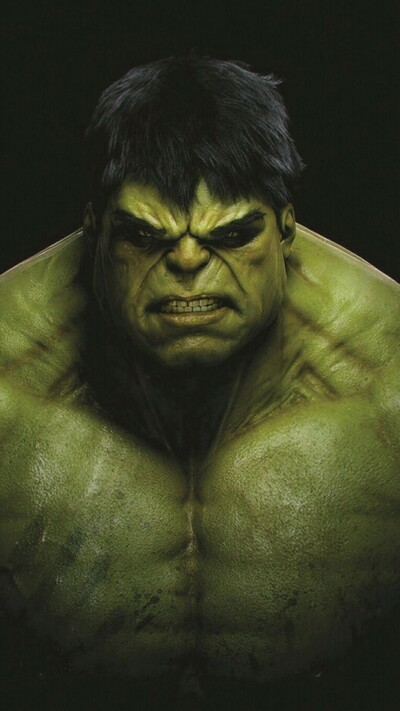 Angry Hulk Mobile Wallpaper