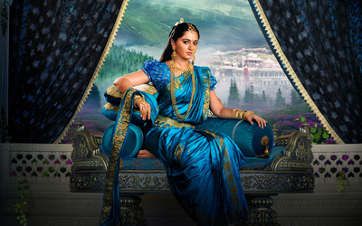Anushka Shetty as Devsena in Bahubali 2