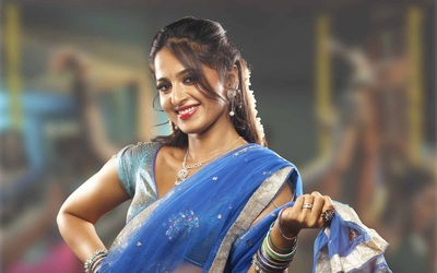 Anushka Shetty In Saree