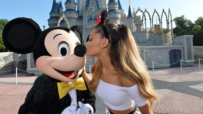 Ariana Grande With Mickey