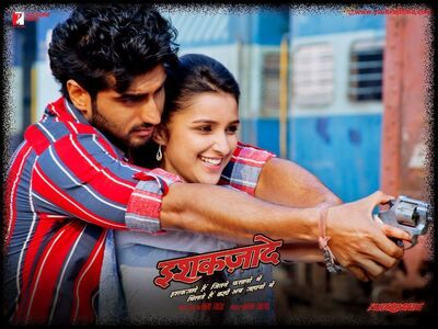 Arjun and Parineeti In Ishqzaade Movie