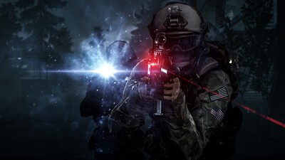 Battlefield 4 Night Operations Action Video Game 4K Wallpaper