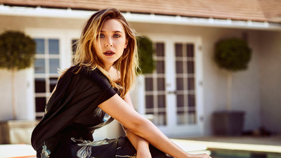 Beautiful American Actress Elizabeth Olsen
