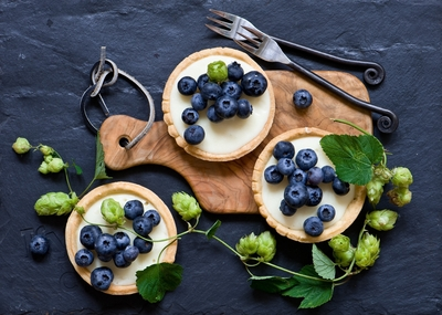 Blueberry Fruits Wallpaper
