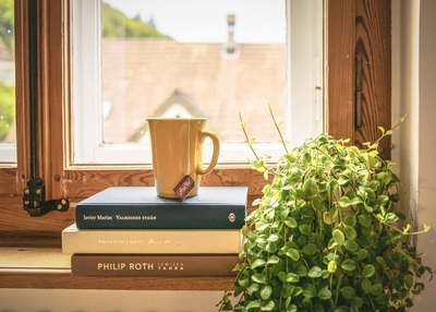Book With Cup of Coffee