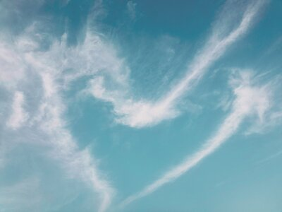 Clouds Form Heart In The Sky