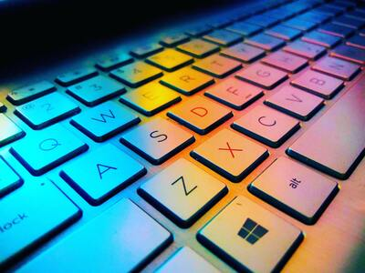 Colourful Keyboard