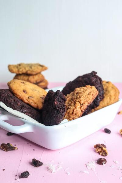 Cookies in Dish