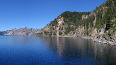 Crater Lake in Oregon Photo