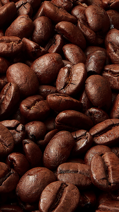 Dark Coffee Mobile Background