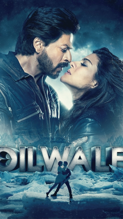 Dilwale Movie Poster Mobile Wallpaper