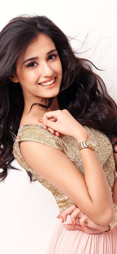 Disha Patani Looking Cute with Smile
