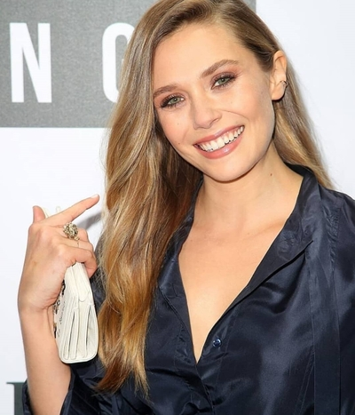 Elizabeth Olsen Cute Smile Photo