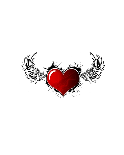 Flying Heart Creative Pic