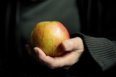 Fruit Apple in Hand