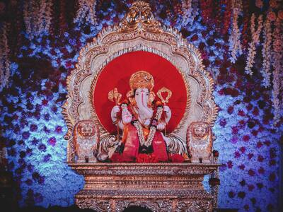 Ganesha Photo in Ganesh Chaturthi