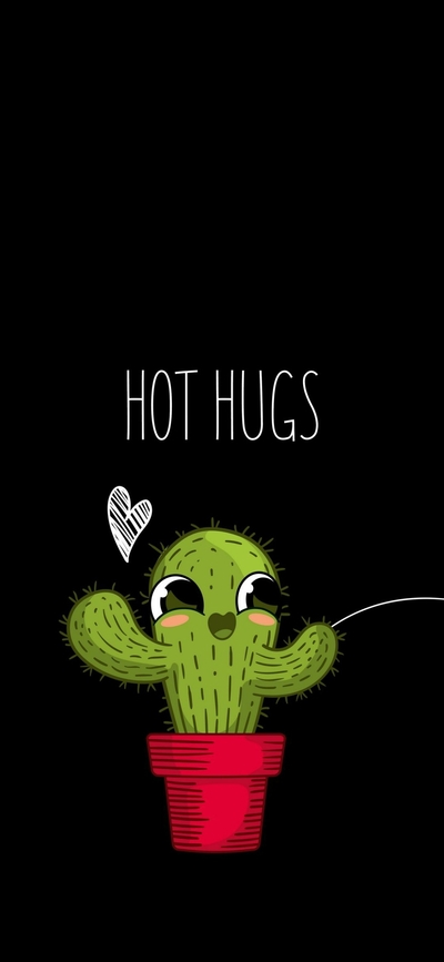 Give Me Hot Hugs Funny Plant