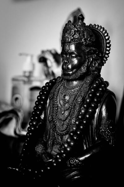 God Hanuman Idol Photo