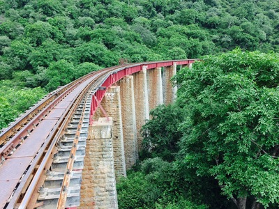 Goram Ghat Rail Bridge