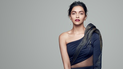 Graceful 4k Wallpaper of Actress Deepika Padukone