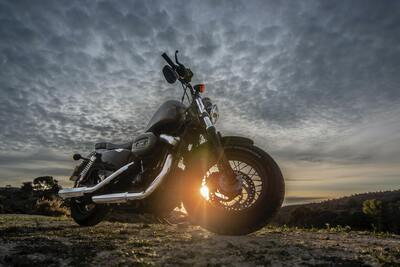Harley Davidson Forty Eight 1200 Motorcycle