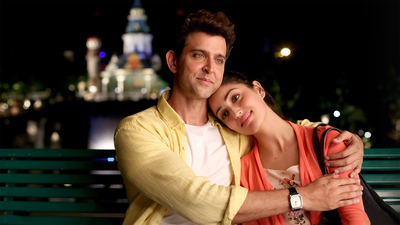 Hrithik Roshan And Yami Gautam in Kaabil Movie